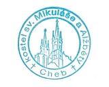 Turistická razítka - Kostel sv. Mikuláše a Alžběry Cheb