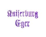 Turistické razítko - Kaiserburg Eger (Císařský hrad Cheb)