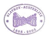 Turistická razítka - Zámek Slavkov - Austerlitz