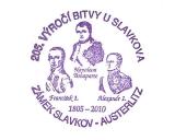 Turistická razítka - 205. výročí bitvy u Slavkova