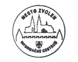 Turistická razítka - Zvolen (Slovensko)